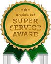 Super Service Award logo